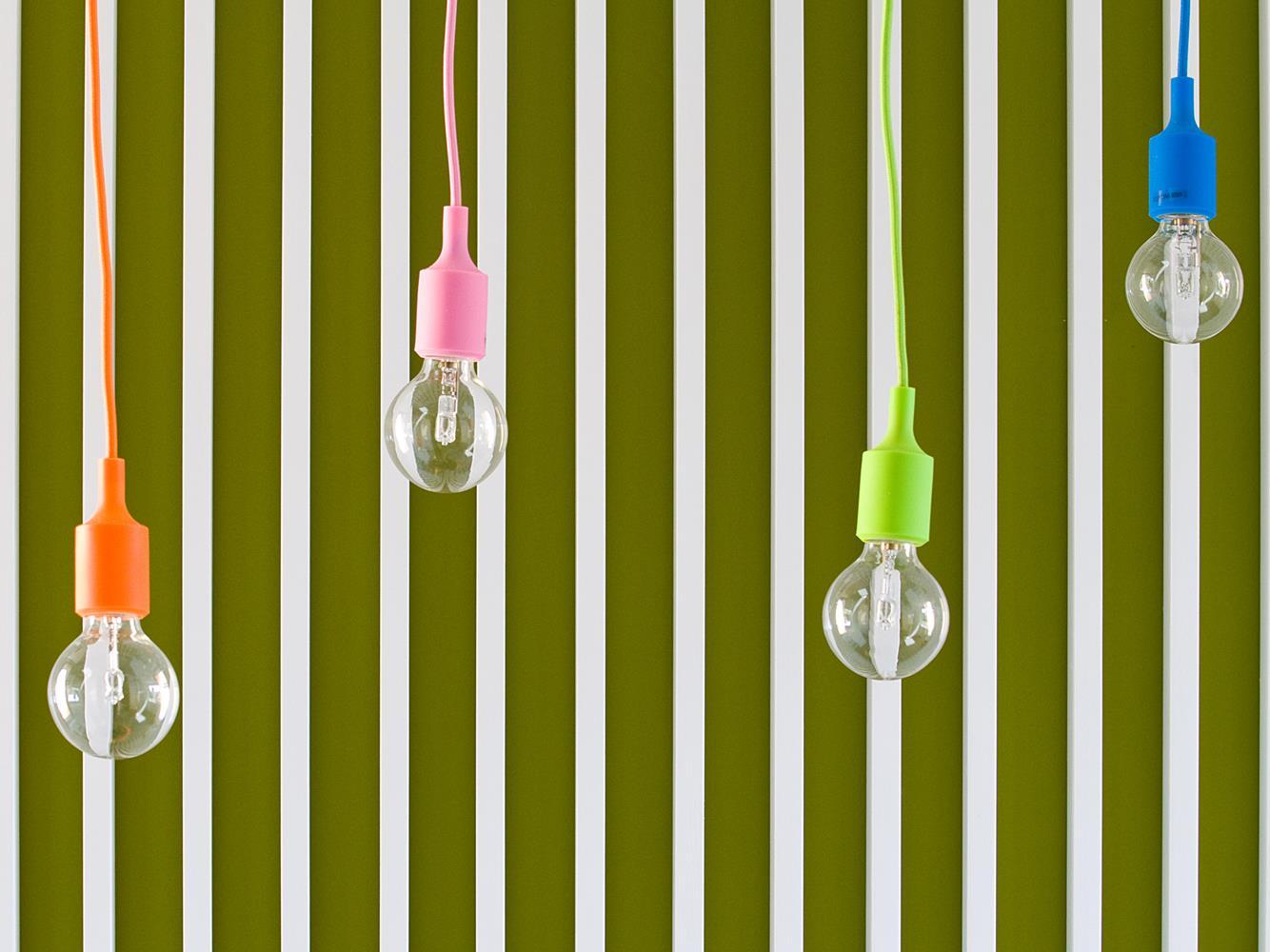 light bulbs hall hello milano b&b