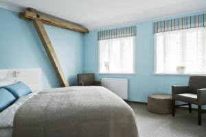 Hoftel_Föhr_blaues Zimmer