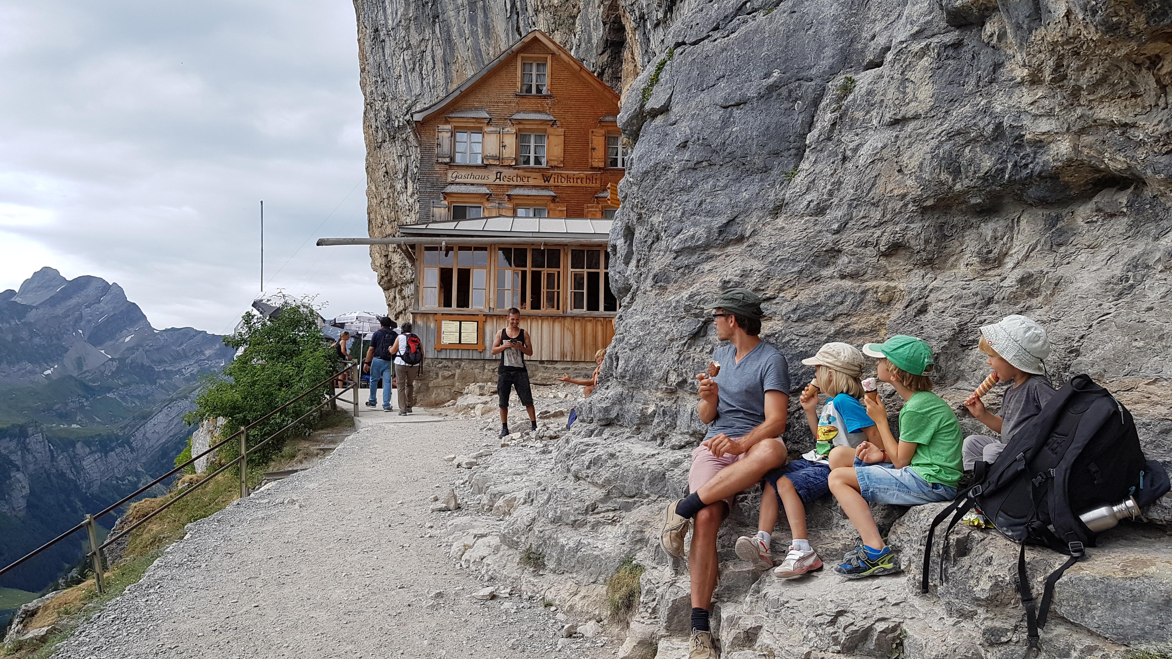 Erlebniswandern mit Kindern- Dreiländereck Bodensee