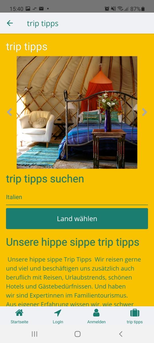 trip tipps