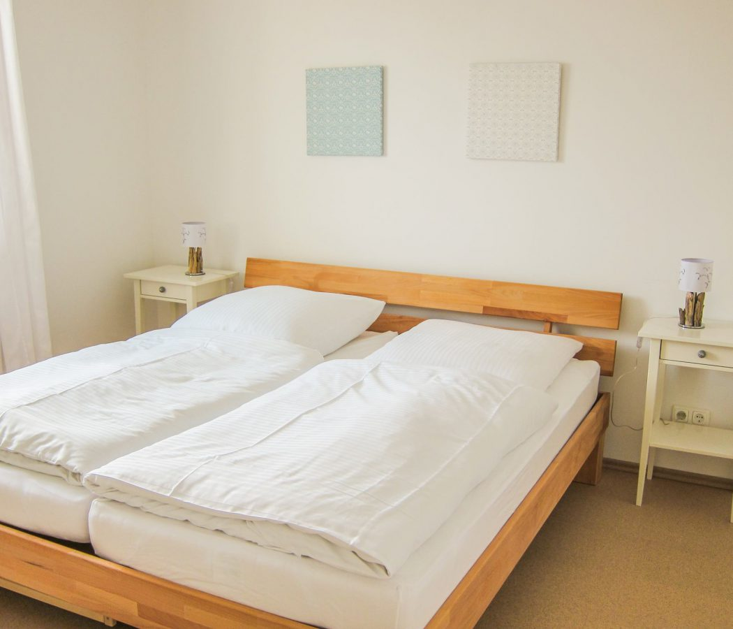 Ferienwohnung Minze Schlafzimmer (Copy)